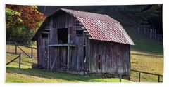 Old Barn In Etowah Beach Sheet