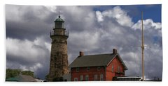 Old Fairport Harbor Light Beach Sheet