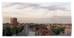 Old Town Klaipeda. Lithuania. Beach Towel