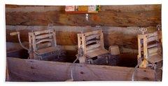 Beach Towel featuring the photograph Old West 2 by Deniece Platt