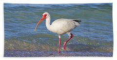 One Step At A Time Beach Towel by Betsy Knapp