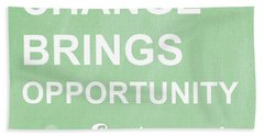 Opportunity Beach Towel