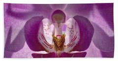 Orchid   Beach Towel by Sue Stefanowicz