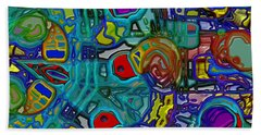 Organized Chaos Beach Towel by Alec Drake