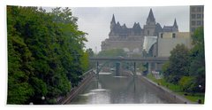 Ottawa Rideau Canal Beach Sheet