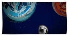 Outer Space Beach Towel