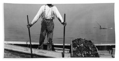 Oyster Fishing On The Chesapeake Bay - Maryland - C 1905 Beach Sheet