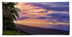 Pacific Sunrise Beach Towel