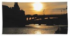 Parisian Sunset Beach Sheet