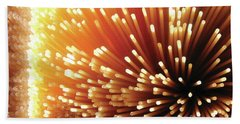 Pasta Illumination Beach Sheet