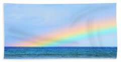 Pastel Rainbow Beach Towel
