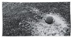Pebble On Foam Beach Towel
