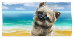 Petey In Coney Island Beach Sheet