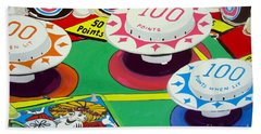 Pinball Wizard Beach Towel