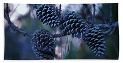 Pine Cones Beach Towel
