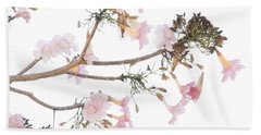 Pink Blossoms In Panama Beach Towel