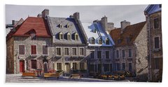 Place Royale Beach Towel by Eunice Gibb