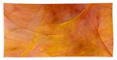 Poetic Emotions Abstract Expressionism Beach Towel