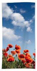 Poppy Flowers 04 Beach Towel