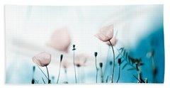 Poppy Flowers 11 Beach Towel