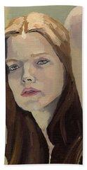 Portrait Of Ashley Beach Towel