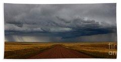 Prairie Storm In Canada Beach Sheet