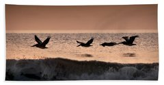 Predawn Formation Beach Towel