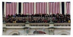 President George W. Bush Makes Beach Sheet by Stocktrek Images