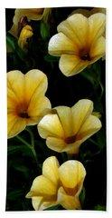 Pretty In Yellow Beach Sheet