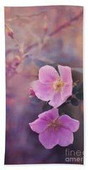 Prickly Rose Beach Towel