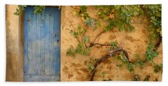 Beach Towel featuring the photograph Provence Door 5 by Lainie Wrightson