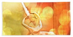Psyche Revived By Cupid's Kiss Beach Towel