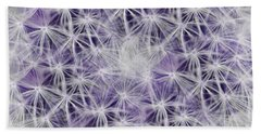 Purple Wishes Beach Sheet