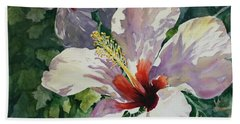 Radiant Light - Hibiscus Beach Towel