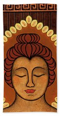 Radiant Peace Beach Towel