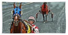 Beach Towel featuring the photograph Ready To Race by Alice Gipson