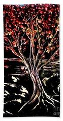 Red Leaf Beach Sheet