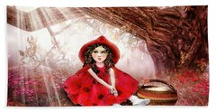 Red Riding Hood Beach Towel