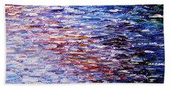 Reflections Beach Towel by Kume Bryant