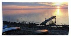 Restful Waters Beach Towel