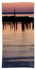 Beach Towel featuring the photograph Revelation by Lainie Wrightson