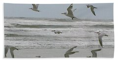 Beach Sheet featuring the photograph Riding The Wind by Donna Brown