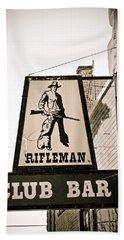 Rifleman Beach Towel