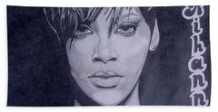 Rihanna Beach Towel