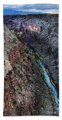 Rio Grande River Gorge Beach Towel