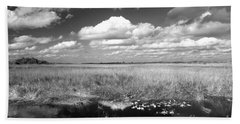 River Of Grass - The Everglades Beach Towel by Myrna Bradshaw