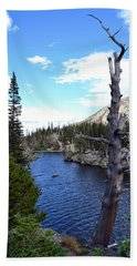 Beach Towel featuring the photograph Rocky Mountain National Park1 by Zawhaus Photography