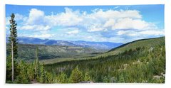 Beach Towel featuring the photograph Rocky Mountain National Park2 by Zawhaus Photography