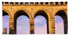 Roman Arches Beach Towel by Semmick Photo