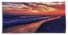 Romar Beach Sunset Beach Towel